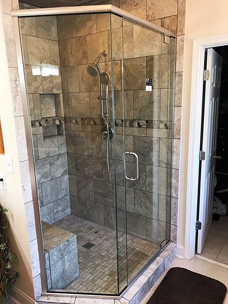 custom glass doors for showers.  collins shower doors custom glass showers 006 jpg Home Glyn Collins Shower Door Company Frameless Doors